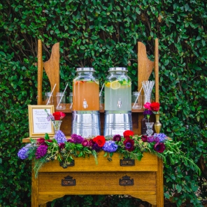 Drink Station Package $200. See Styling/Ceremony. photo: Mad Love Nation.