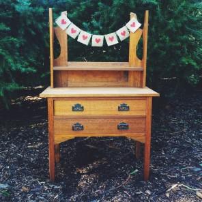 'Annie' Vintage Dressing Table $60